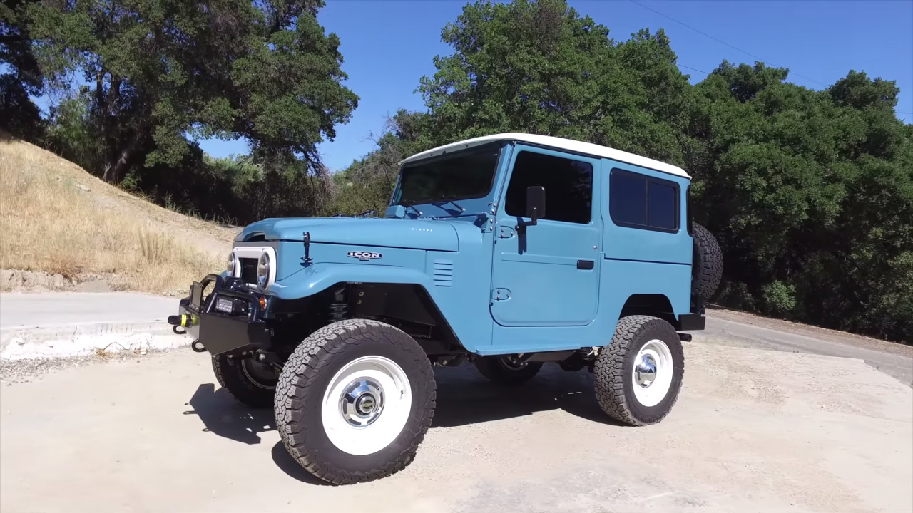 1970 Toyota Fj40 With A Lsx V8 Engine Swap Depot Land Cruiser Jonathan Ward Took Icons Newest Creation For Drive Power Comes From An All Aluminum Connected To 4l65e