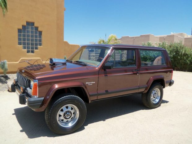1984 Cherokee with a Supercharged Chevy V8