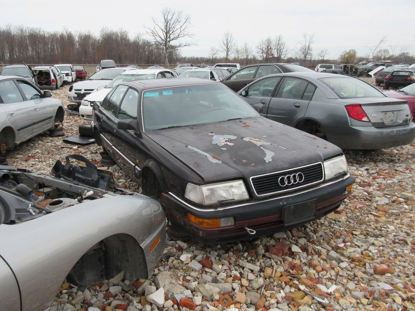 Audi With A QuadTurbo LSx V Engine Swap Depot - Audi v8