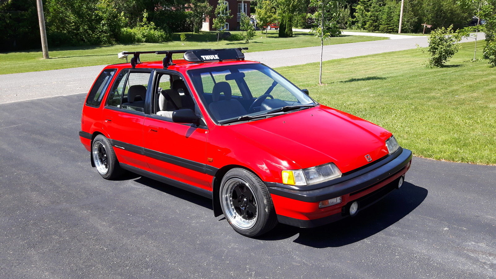 For Sale 4wd Honda Civic Wagon With A Dohc Zc Inline Four