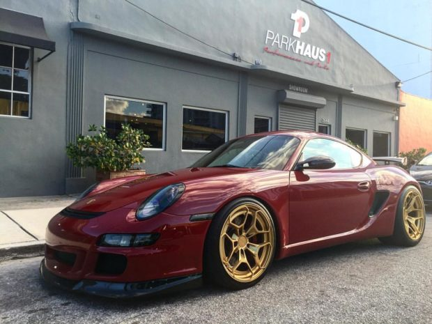 2008 Porsche Cayman with a stroked 4.2 L flat-six