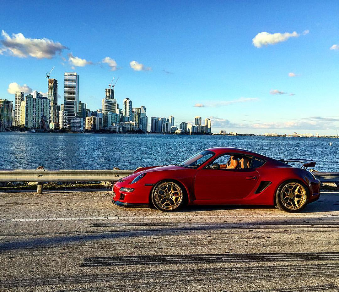Porsche Cayman: Cayman With A Stroked 4.2 L Flat-Six