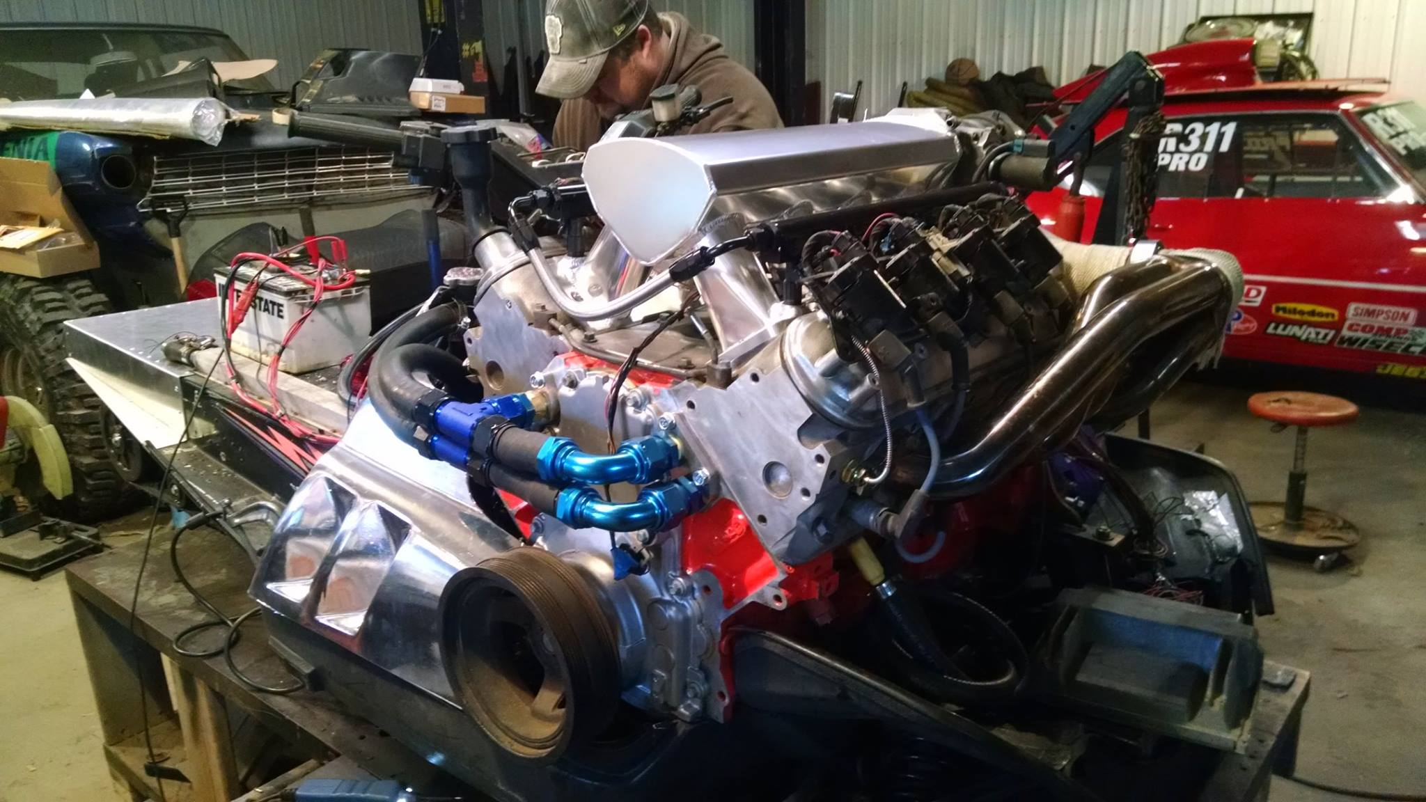 Snowmobile With A Turbo Lsx V8  U2013 Engine Swap Depot