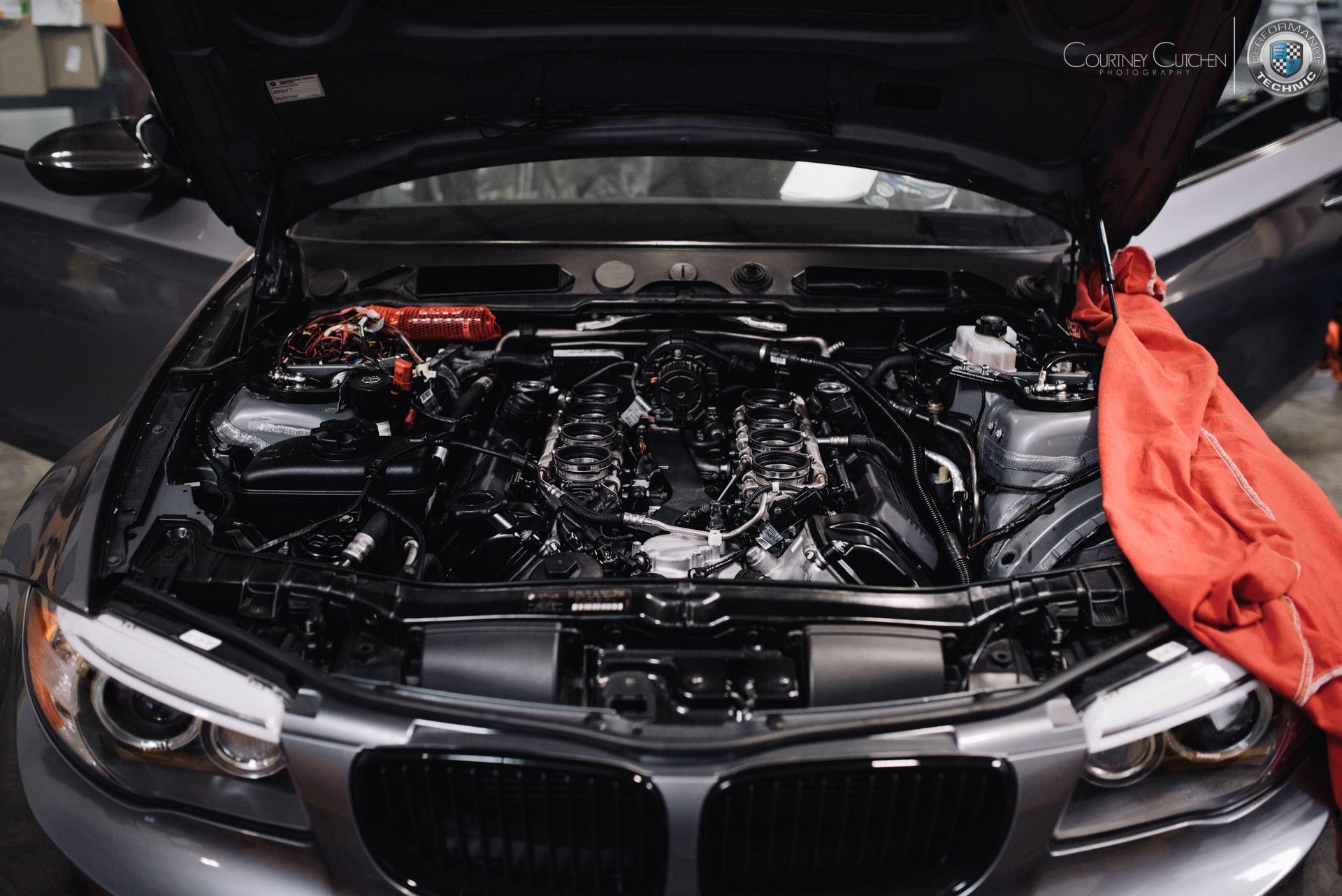 Bmw 135i With A Dinan S65 V8 Engine Swap Depot