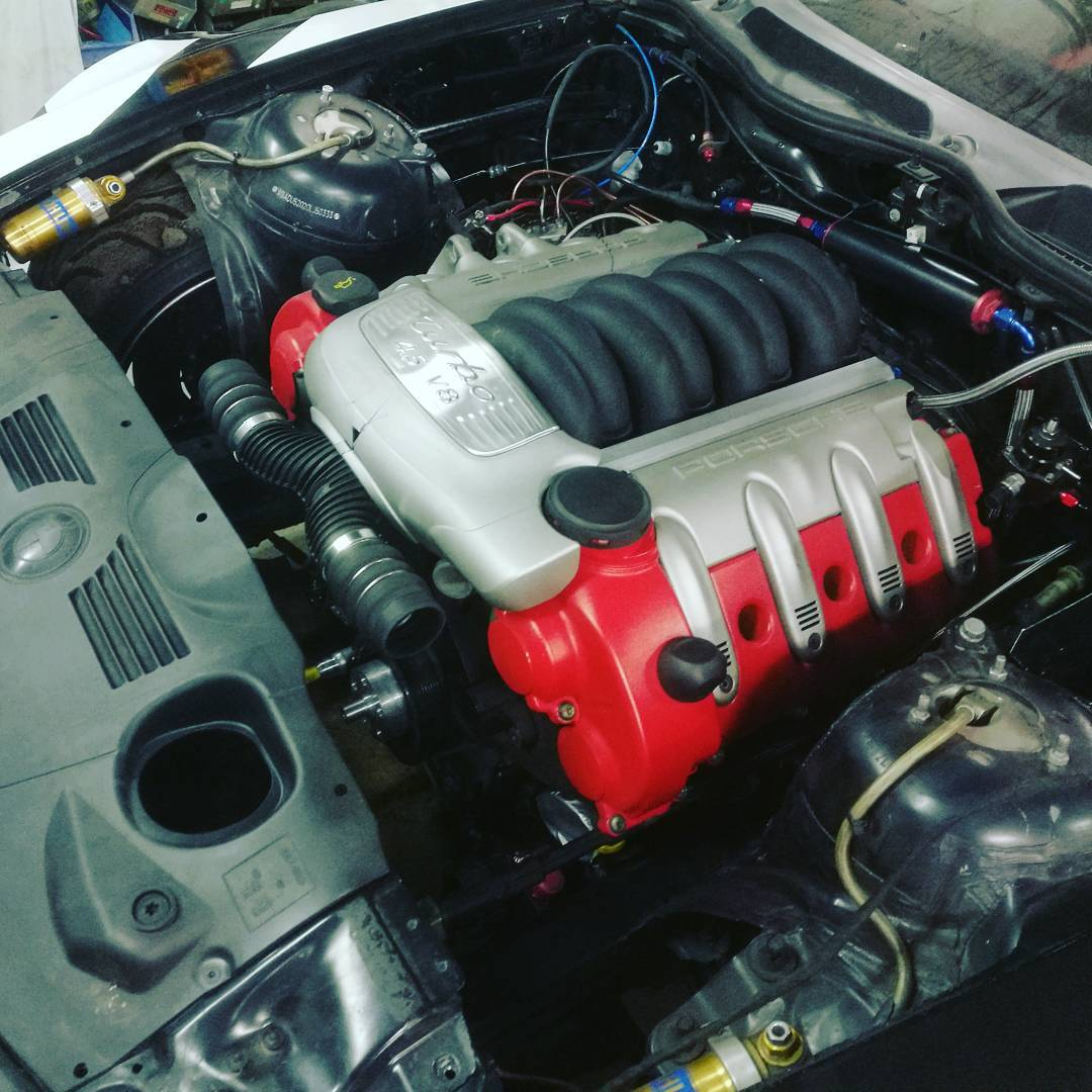 Bmw Z4 With A Twin Turbo Porsche V8 Engine Swap Depot