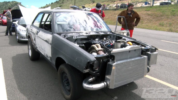 Datsun B-210 with a Turbo S2000 Inline-Four