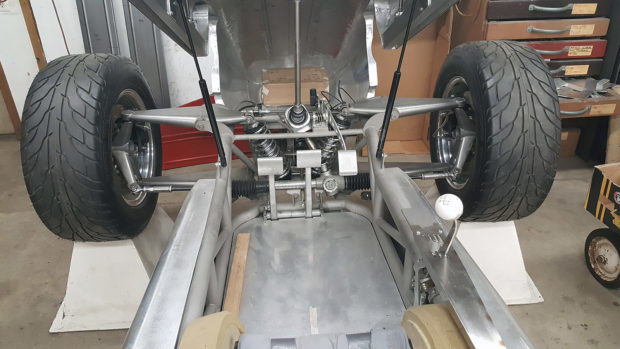 Home-built F1 race car with a V12 from 2 Toyota 1JZ inline-six engines