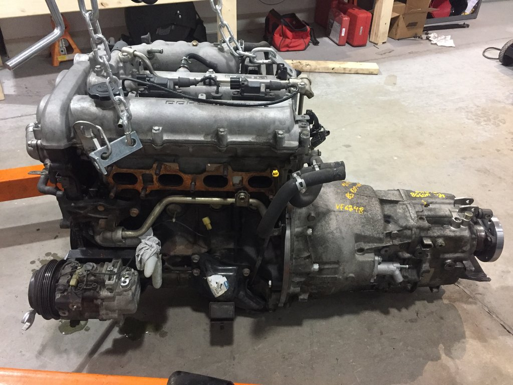 Bmw Zf Transmission Adapter And Swap Kit For Miata Engine Swap Depot
