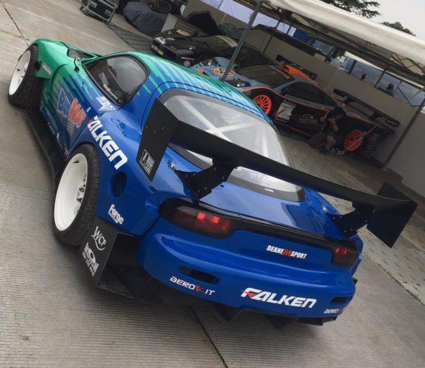 Mazda RX-7 with a SR20DET