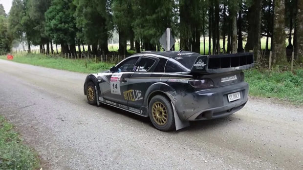 Mazda RX-8 with a 20B 3-rotor