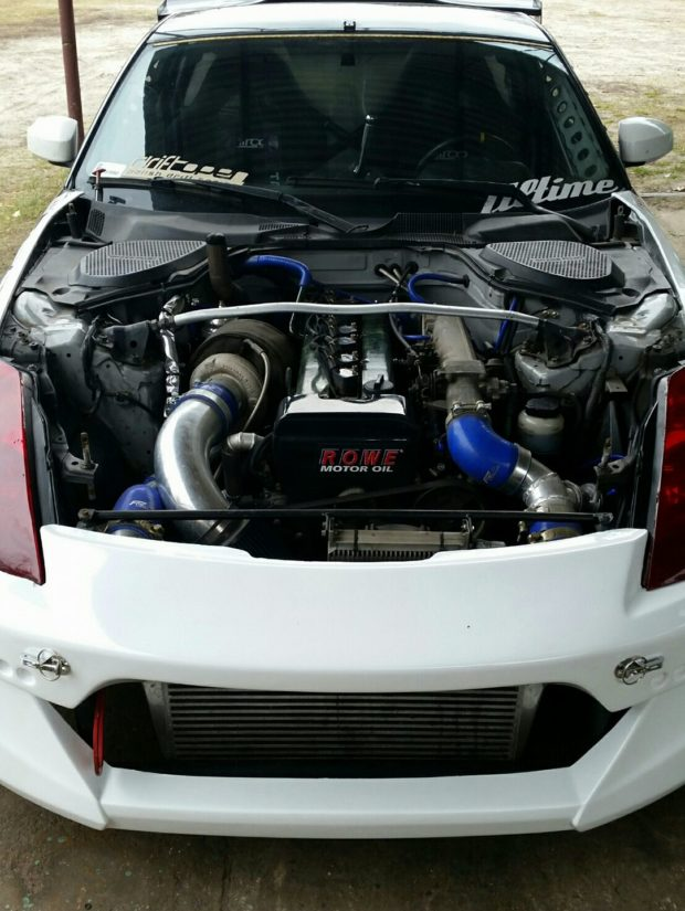 Nissan 350Z with a Turbo 1JZ inline-six