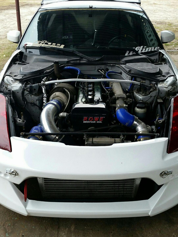 Nissan 350z With A Turbo 1jz Inline