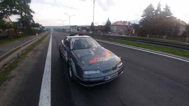 Opel Calibra Tsunami with Twin VR6 Engines