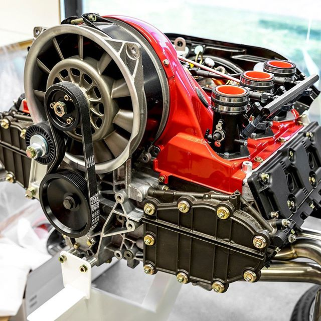 Porsche 993 Cup Engine: Porsche 993 With A 4.0 L Flat-Six