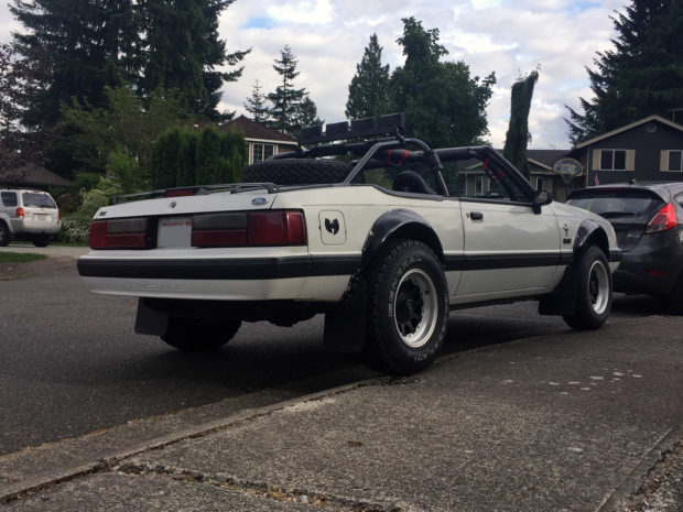 Project DirtPony 1991 Mustang with a 302 ci V8