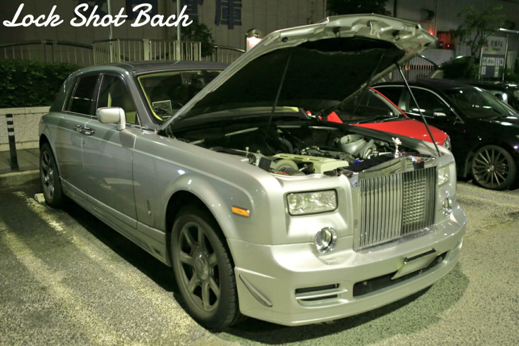 Rolls Royce Phantom With A Twin Charged 2jz Engine Swap Depot