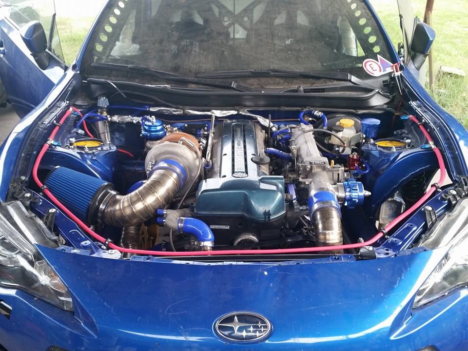Subaru Brz With A Turbo 2jz Engine Swap Depot