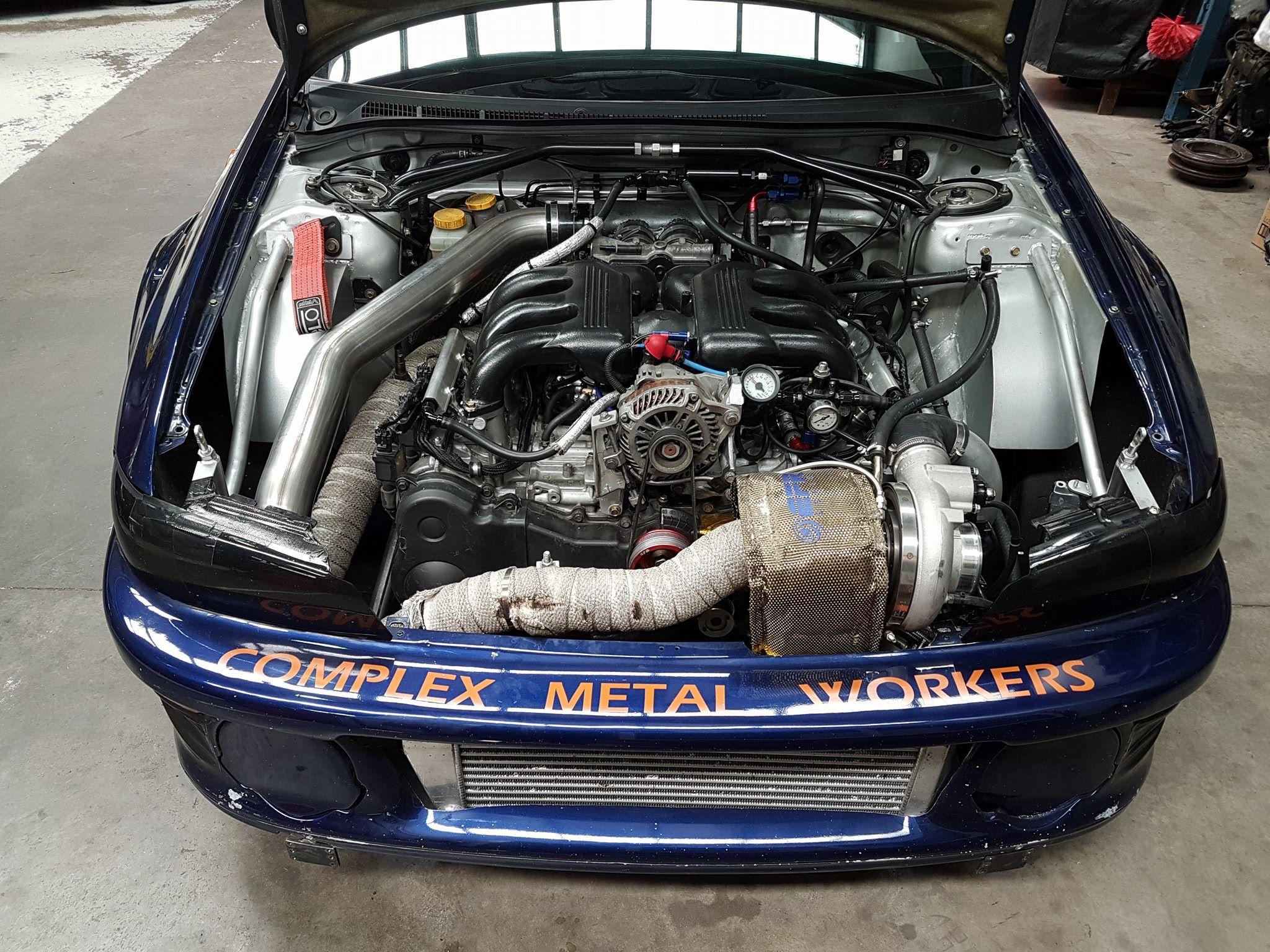 Subaru Impreza Wrx With A Turbo Eg Flat Six
