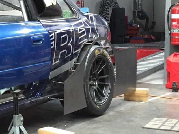 Subaru Impreza WRX with a Turbo EG33 Flat-Six