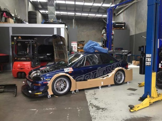 Subaru Impreza WRX with a Turbo EG33 Flat-Six