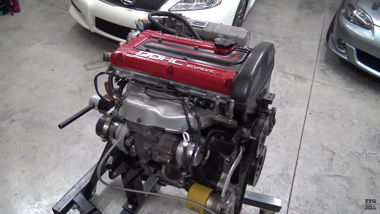Tom S Turbo Garage Mitsubishi Galant Swap Part 9 Engine Swap Depot