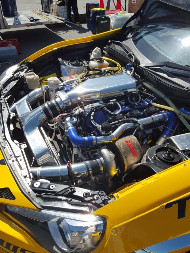 Toyota 86 with a twin-turbo 1GR-FE V6