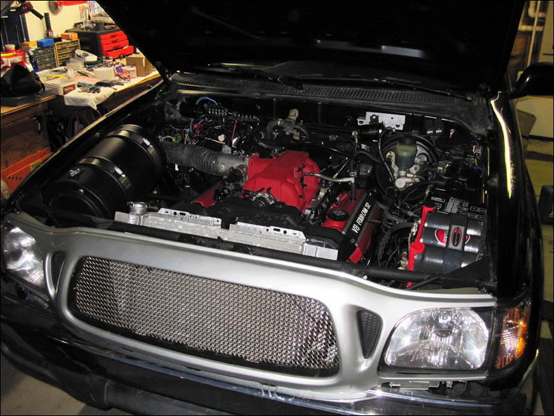 Wiring Harness Kit >> Toyota Tacoma with a 1UZ V8 – Engine Swap Depot