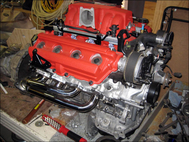Toyota Tacoma with a 1UZ V8