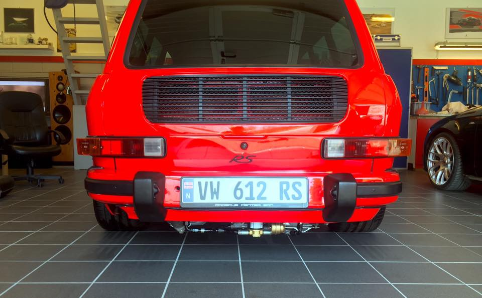 VW 412 with a Porsche 911 Engine Update – Engine Swap Depot
