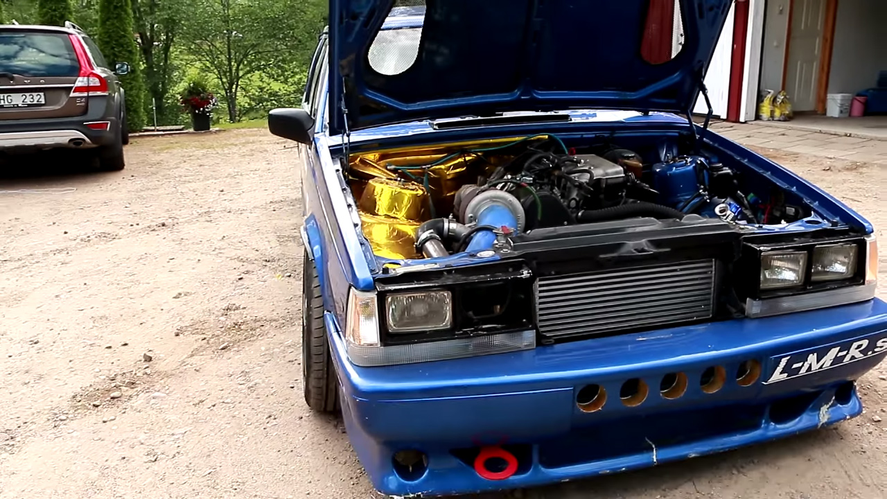 Volvo Wagon With A Turbo B