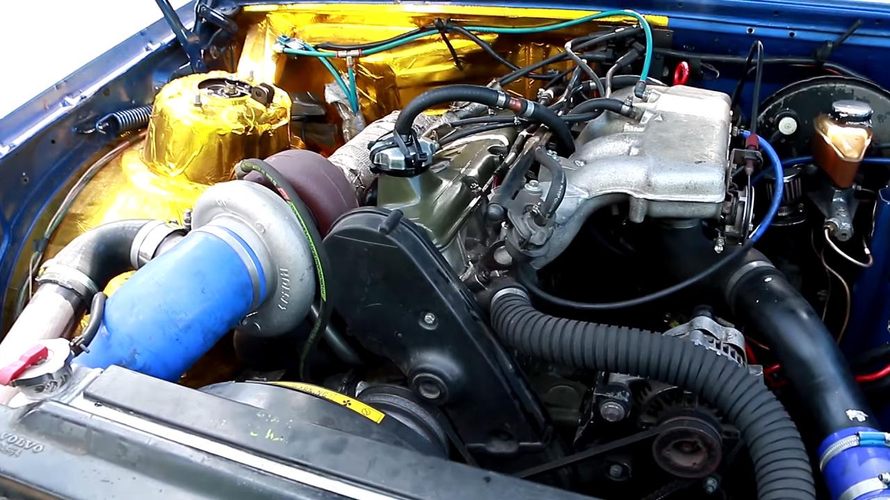 Volvo 740 Wagon With A Turbo B230  U2013 Engine Swap Depot