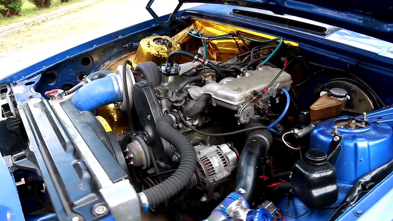 Volvo 740 Wagon with a Turbo B230 – Engine Swap Depot