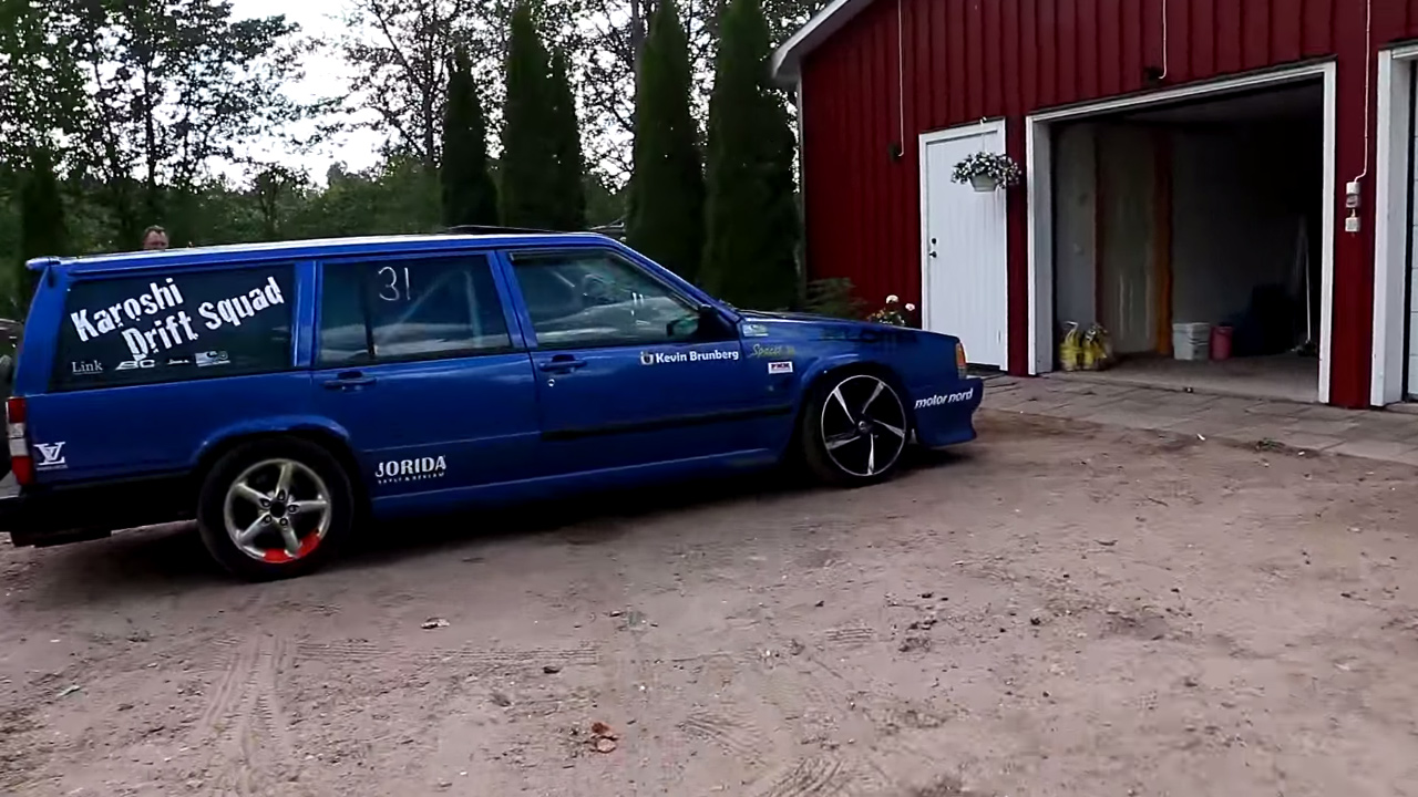 Volvo 740 Wagon with a Turbo B230 – Engine Swap Depot