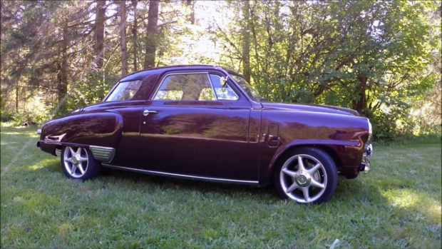 1948 Studebaker with a RB20DET Skyline powertrain