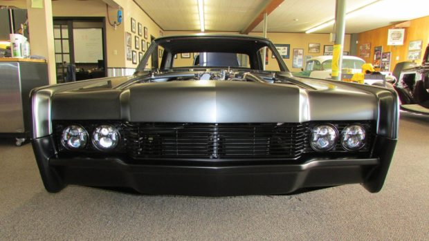 1966 Lincoln Continental with a Ford supercharged Trinity V8
