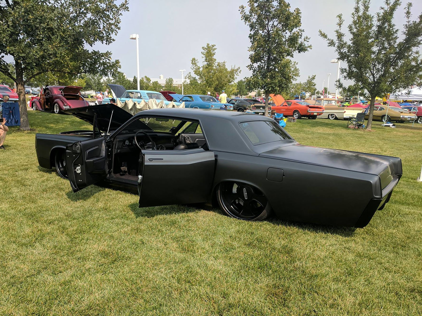 1966 continental with a gt500 v8  u2013 engine swap depot