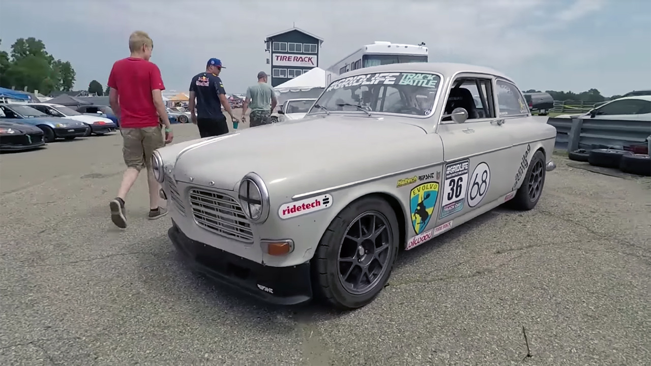 1968 Volvo Amazon with a Turbo 4G63