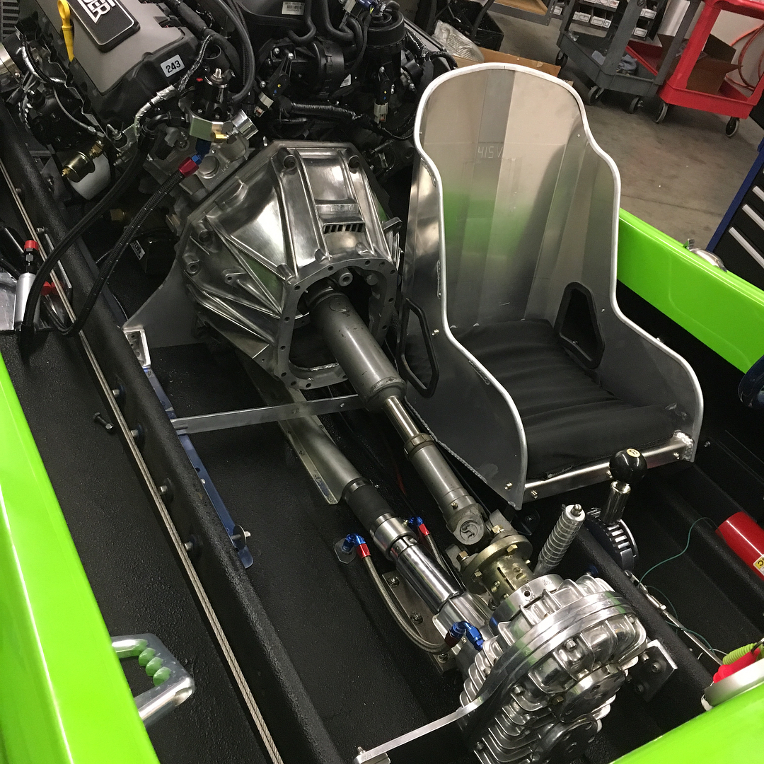 Drag Boat with a Supercharged Coyote V8 ndash Engine Swap Depot