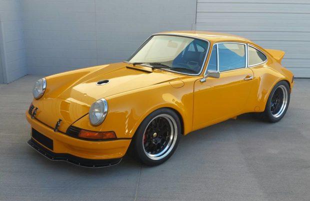 1975 Porsche 911 with a 3.8 L flat-six