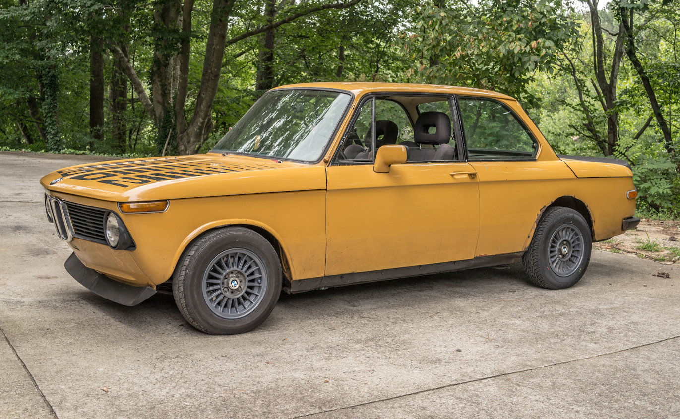 For Sale 1976 Bmw 2002 With A M42 Inline Four Engine Swap Depot