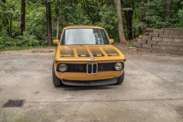 1976 BMW 2002 with a M42 Inline-Four