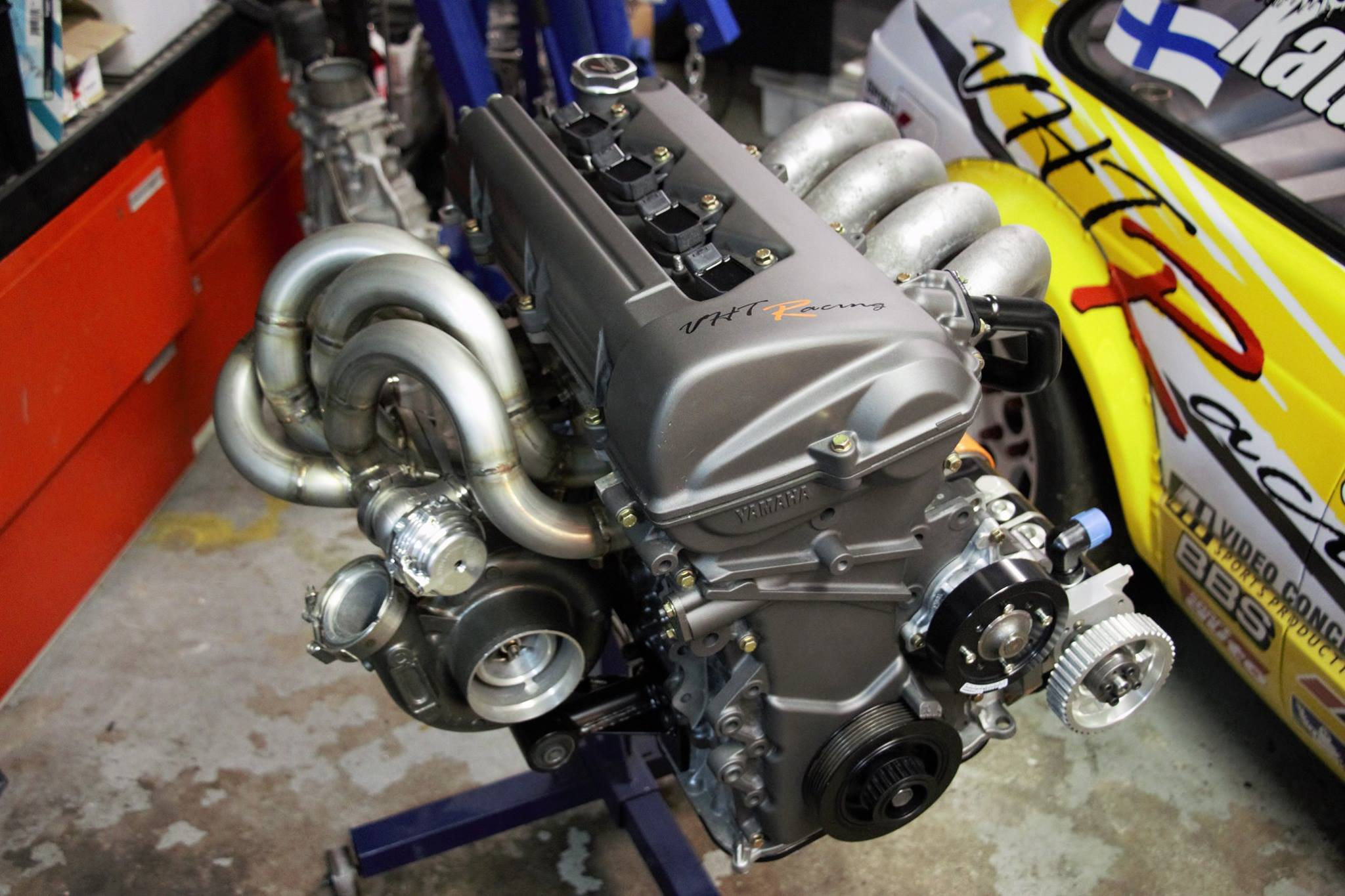 1982 Starlet with a Nitrous and Turbo 2ZZ Inline-Four ...