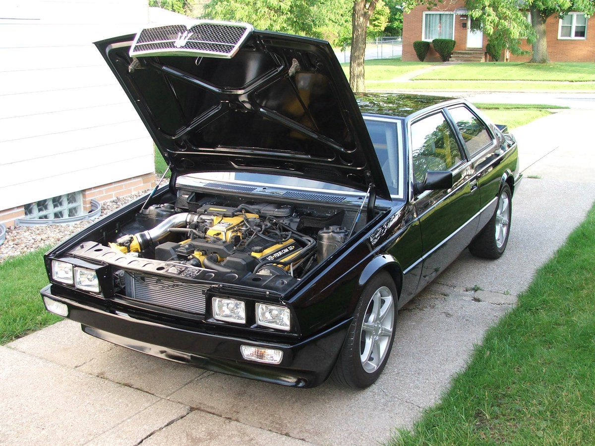 Maserati biturbo engine swap