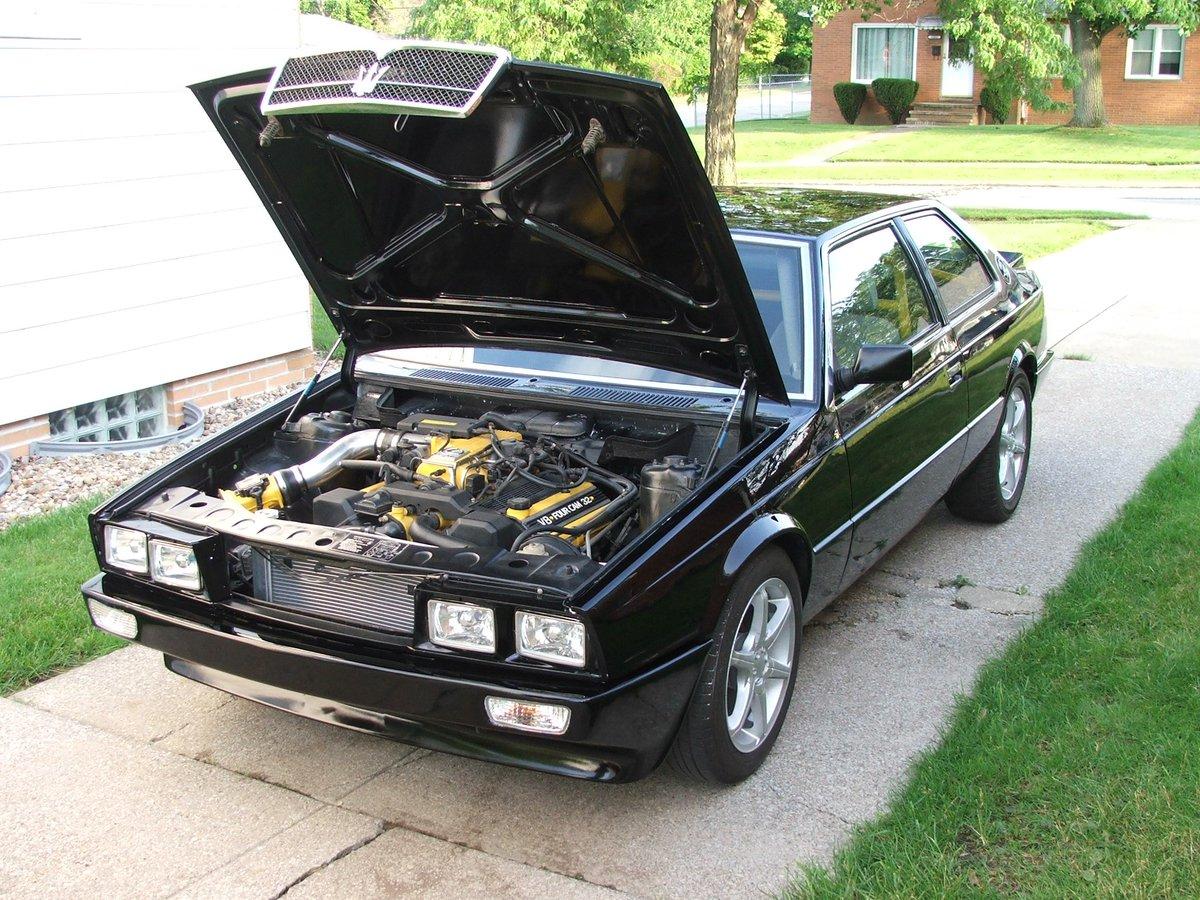 2017 Honda Accord V6 >> 1985 Maserati Biturbo with a 1UZ V8 – Engine Swap Depot