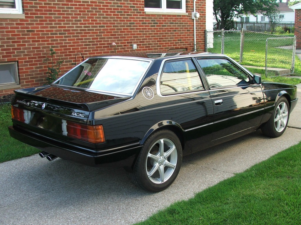 1985 Maserati Biturbo with a 1UZ V8
