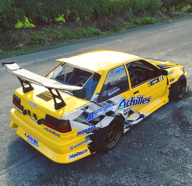 1985 Toyota Corolla AE86 with a LS2 V8