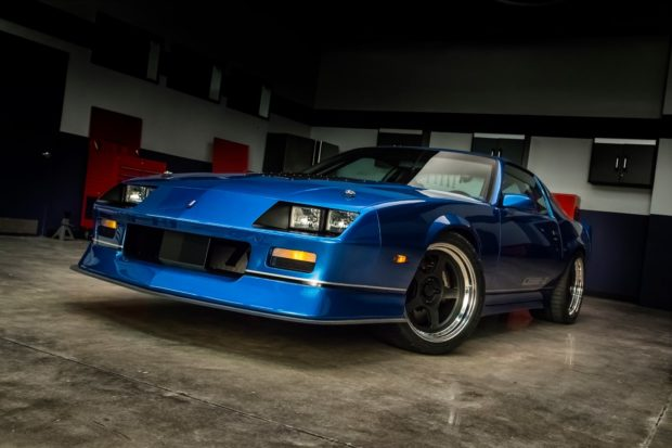 1987 Camaro with a destroked LS7 V8