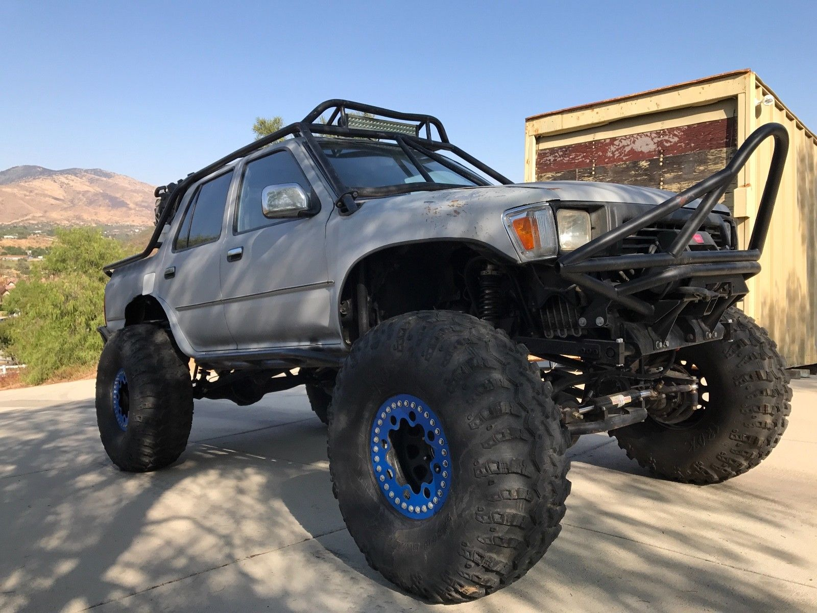 Toyota 4runner With A 1uz V8 Engine Swap Depot