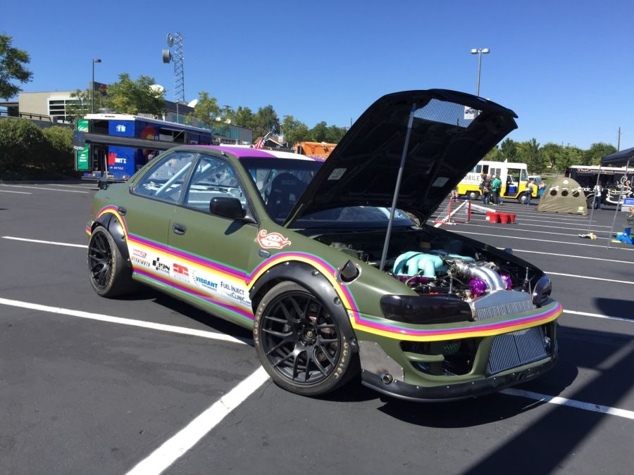 Joe Hanna Owns This 1993 Subaru Impreza And Built It At His Shop ASF  Machine In Grand Junction, Colorado. Joe Set Out To Turn The Sedan Into A  Monster Race ...