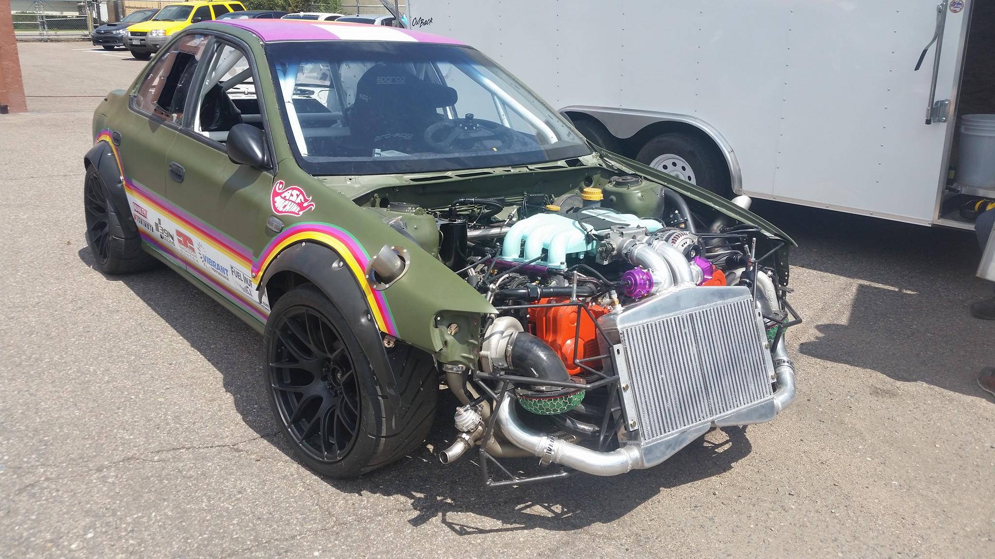 Subaru Impreza with a Twin-Turbo Flat-Six – Engine Swap Depot